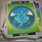 Colección de Cromos Dragon Ball