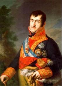 Fernando-VII Política