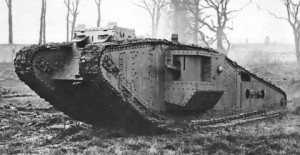 tanque-inglésI-guerra-mundíal