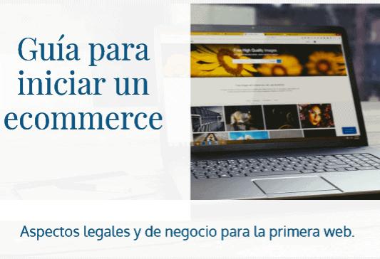 Guía legal para iniciar un comercio electrónico