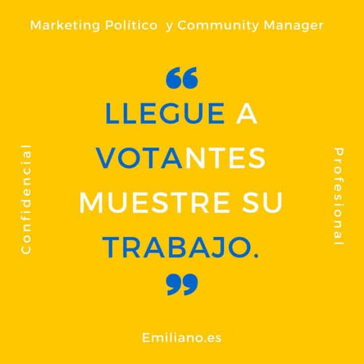 Experto Community Manager Políticos y ONGS