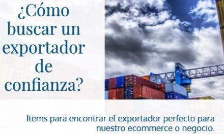¿Cómo buscar un exportador de nuestro producto?