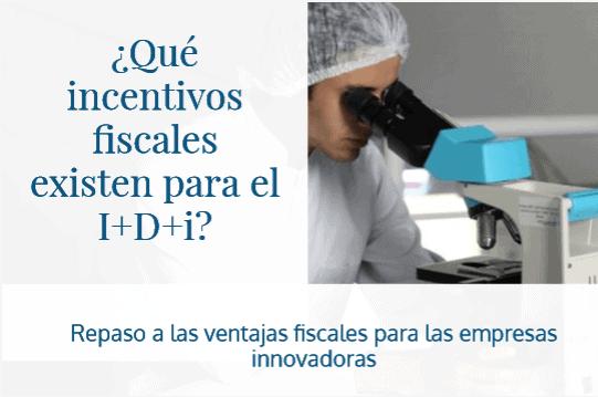 Recurso: ¿Qué incentivos fiscales existen para el I+D+i?