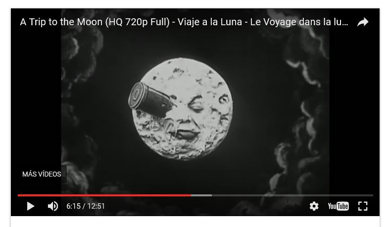 Película: Viaje a la Luna, 1902