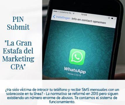 A fondo: Estafas por SMS – Técnica Pin Submit
